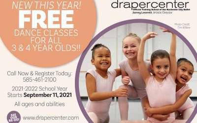 Exciting News! Free dance classes for all 3 & 4 year olds.