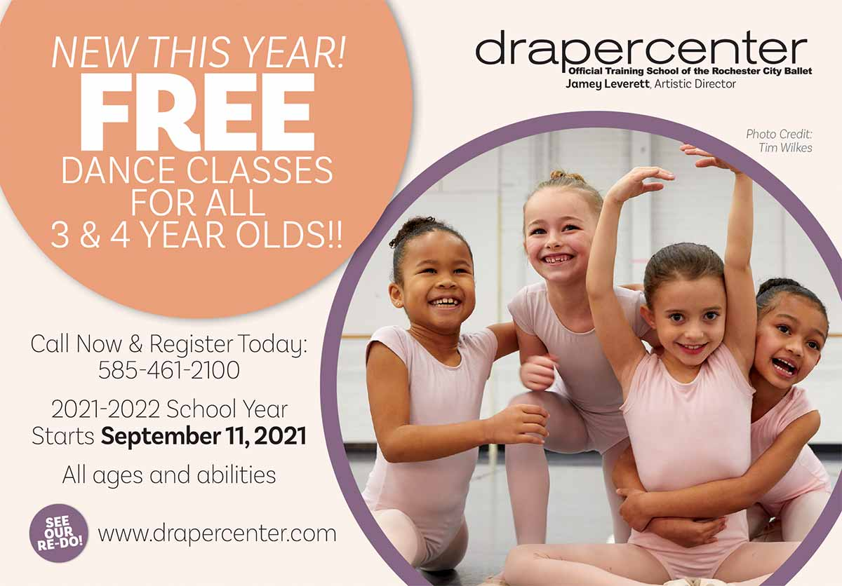 Free Dance Classes for all 3 & 4 year olds
